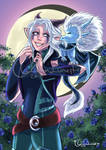 The Dragon Prince: Rayla and Zym