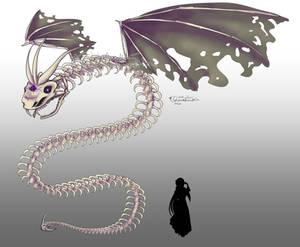 TEoL Concept Art: Undead Amphiptere