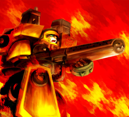 Transformers HOTSHOT by ok-t