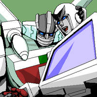 Wheeljack and Ratchet by ok-t
