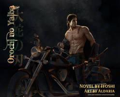 Orochi no Yaiba poster by Aldariia