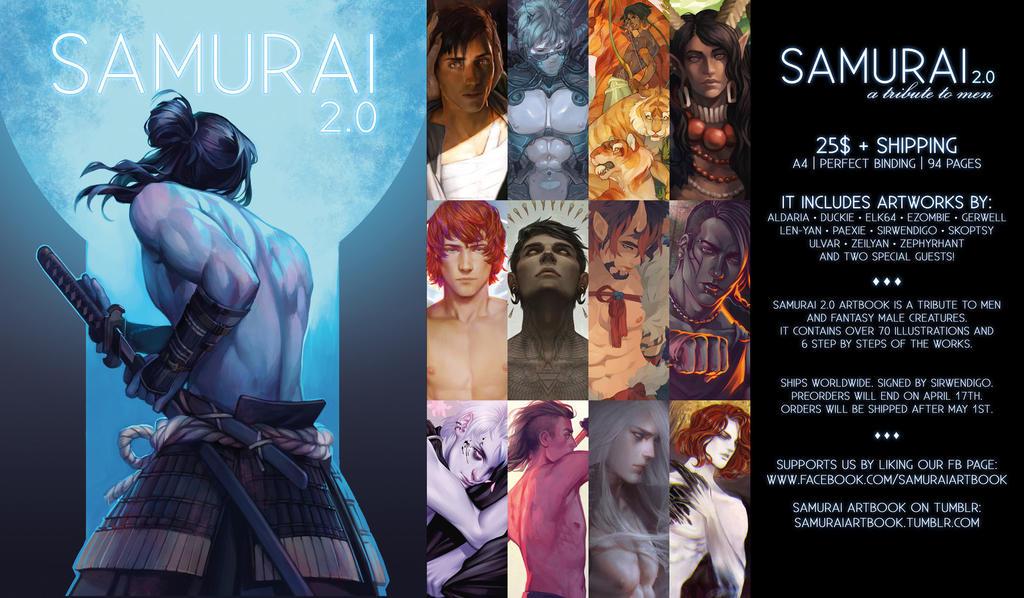 Samurai 2 0 Artbook   Preorder Open By Sirwendigo- by Aldariia