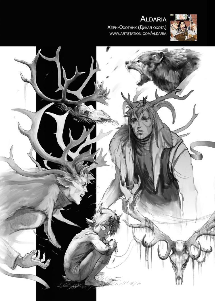 sketches by Aldariia