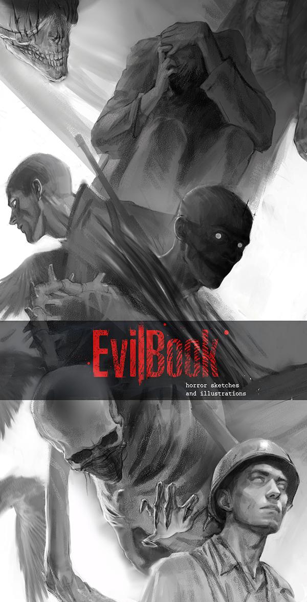 for evilbook by Aldariia
