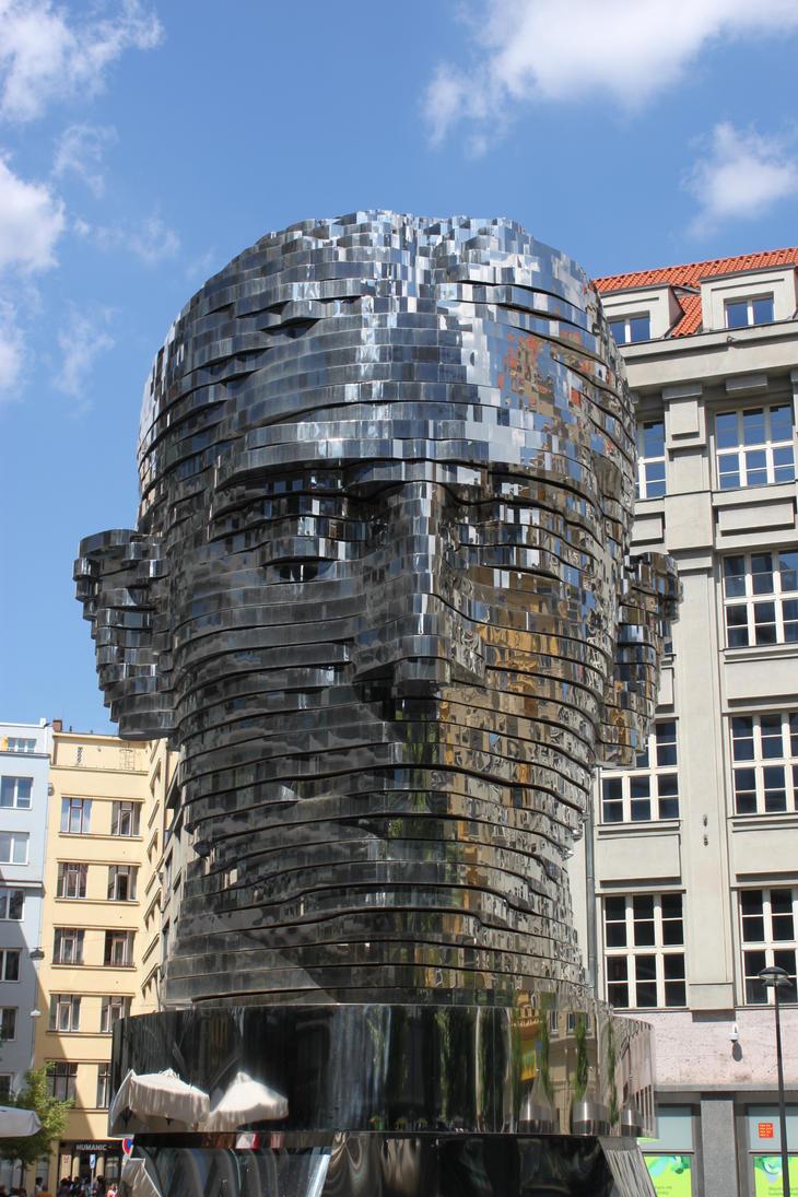Franz Kafka Head by treadstone01