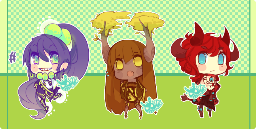 Yokai Adoptables [1] OFFERS DECIDED by WoeAdopts
