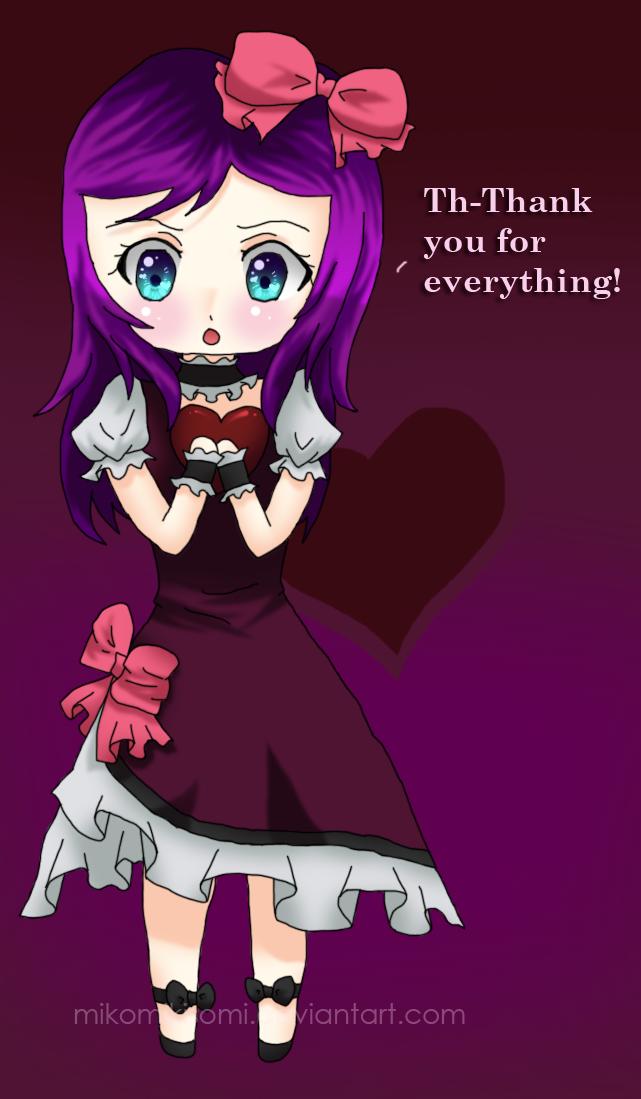Happy Valentine's Day- Thank You 1 by MikomiKisomi