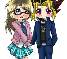 :C: Yami and Rebecca by MikomiKisomi