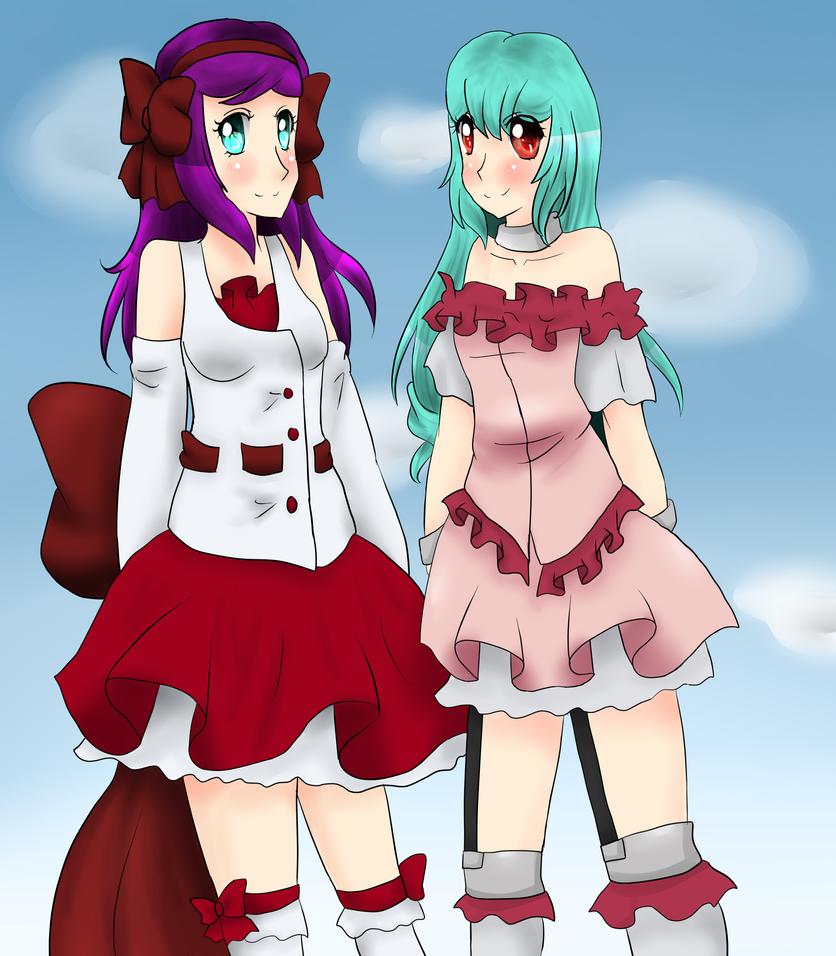 Mikomi and Cherise by MikomiKisomi