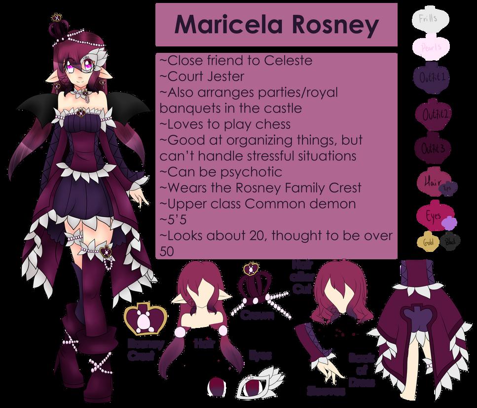 Maricela Rosney ref 2013 by MikomiKisomi