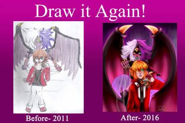 Forever Redraw Meme by MikomiKisomi