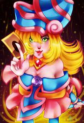 Dark Magician Girl by MikomiKisomi
