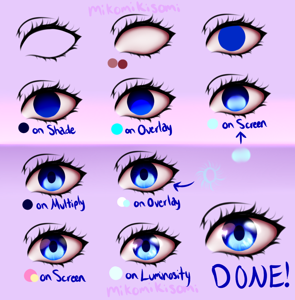 How to Draw Manga Eyes, Line by Line in Real Time - YouTube |How To Draw Anime Girl Eyes Step By Step For Beginners