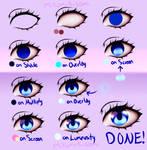 Step-by-Step Anime Eye Tutorial