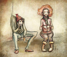 Memory sketch by RosieVangelova