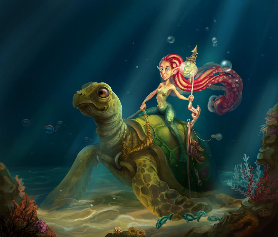 Sea Queen by RosieVangelova