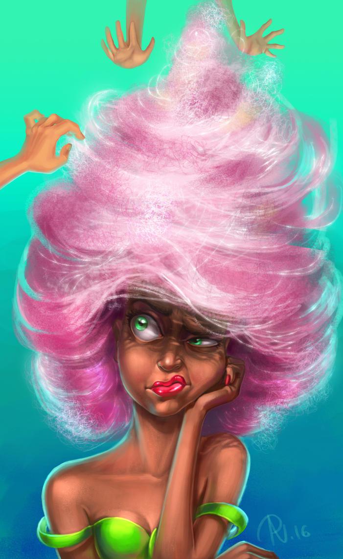 Cotton Candy Hair by RosieVangelova