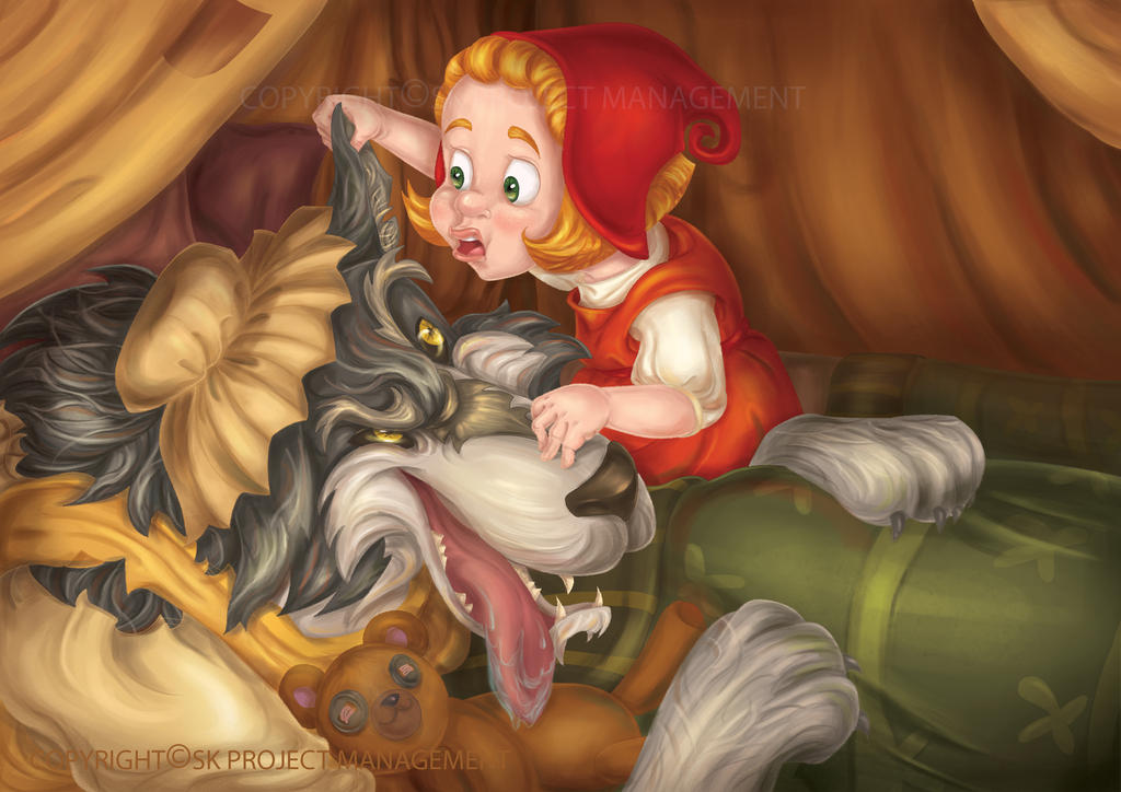 Little Red Riding Hood 1 2013th by RosieVangelova