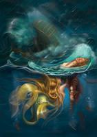 :iconrosievangelova: The Little Mermaid 2013th. 2 by RosieVangelova