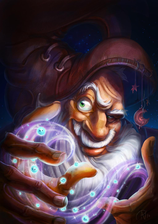 Wizard by RosieVangelova