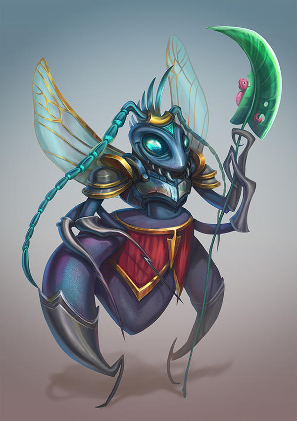 Insect Warrior by RosieVangelova