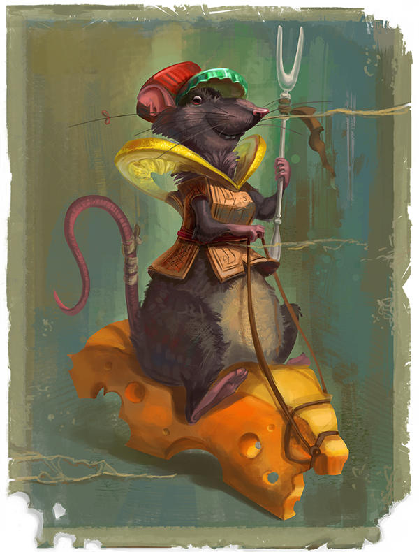 Rat Warrior by RosieVangelova