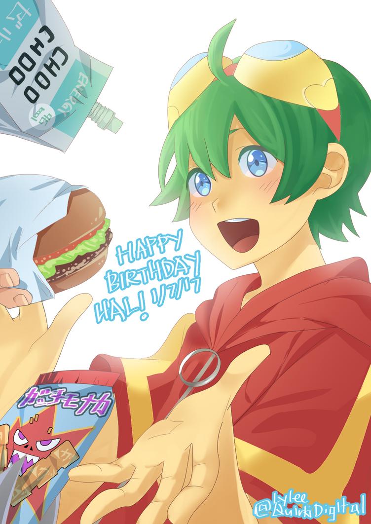 Happy Birthday, Shinkai Hal! by QuirkiDigital
