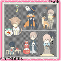 Ten Count Chibi Renders [PACK]