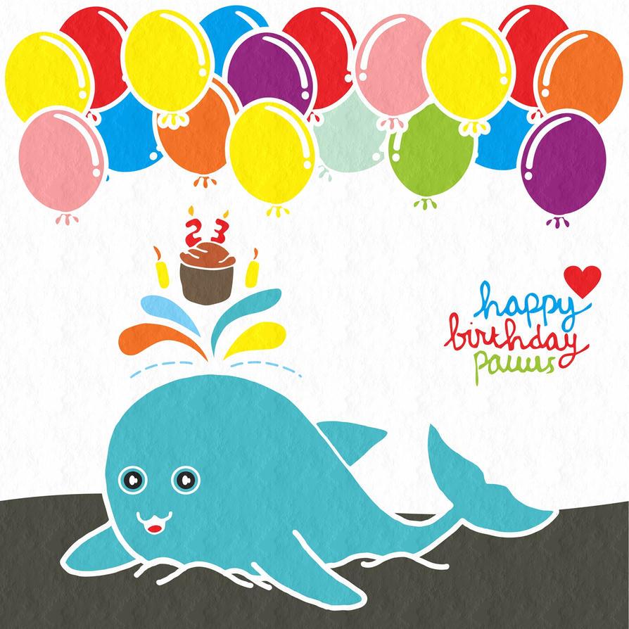 HAPPY BIRTHDAY PAUUS 23 by DinoCacktus