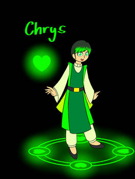 The Green Magician (Chrysophrase)