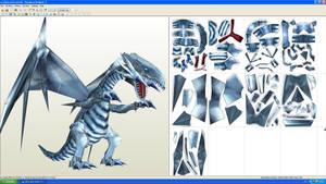 Blue eyes White dragon Paper