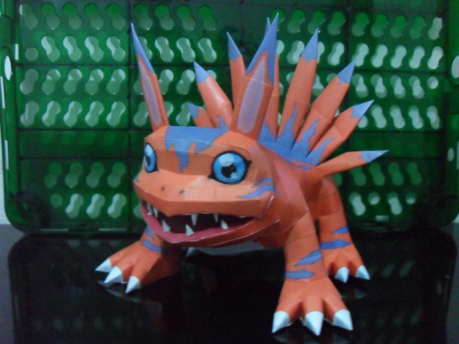 Elecmon Papercraft by MichelCFK