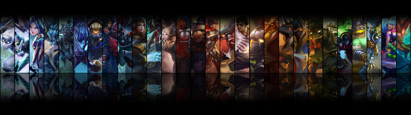 Dual Monitor Wallpaper League Of Legends Wallpapers Moving