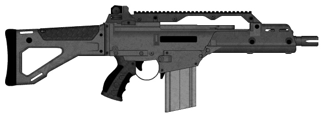 Modified G36 by burbidge