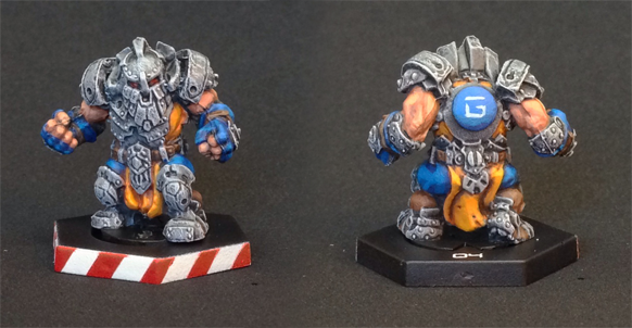 Dreadball Forge Father Guard by burbidge
