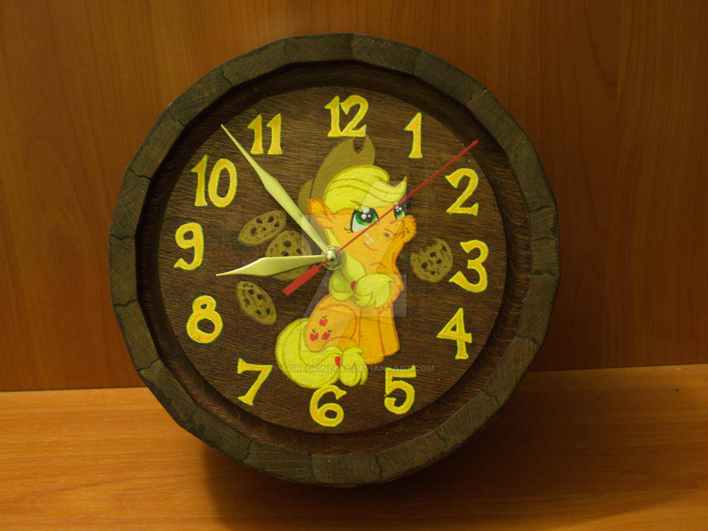 Mlp clock Russian woodwork by Goregrind666 on DeviantArt