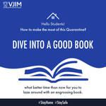 Dive Into A Good Book VJIM Hyderabad