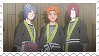 Nagato, Yahiko and Konan Stamp by JesterZePycooo