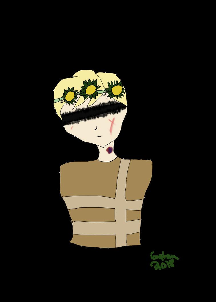 Random boy I drew by GatsuPlayzMc
