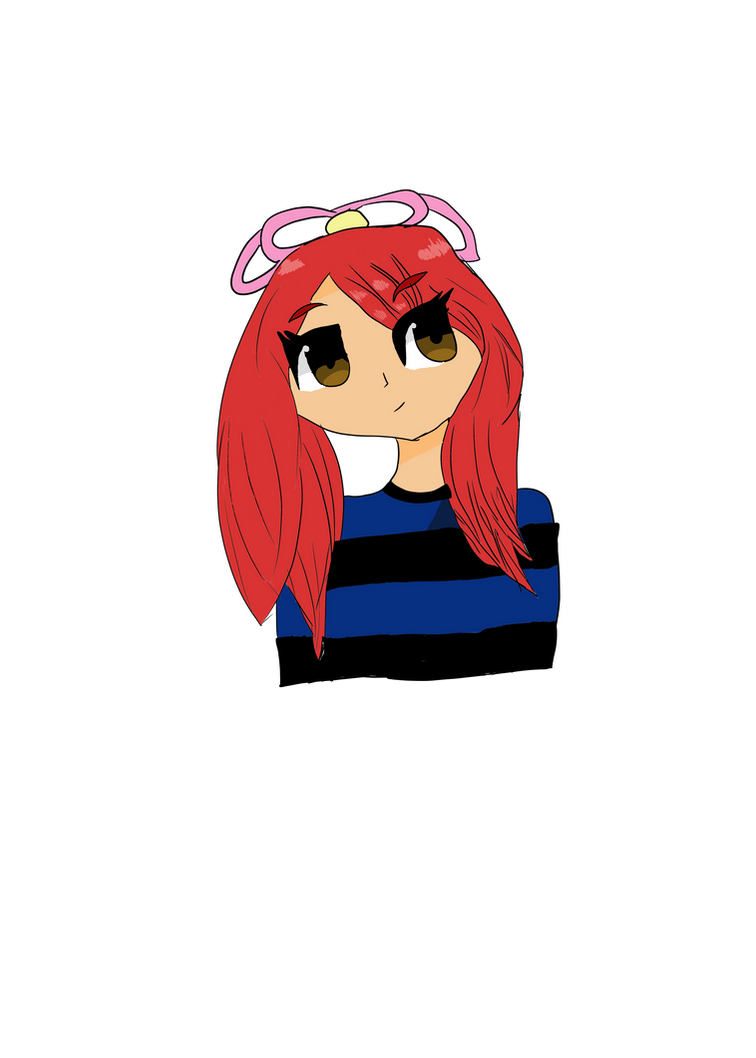 Character I redrew by GatsuPlayzMc