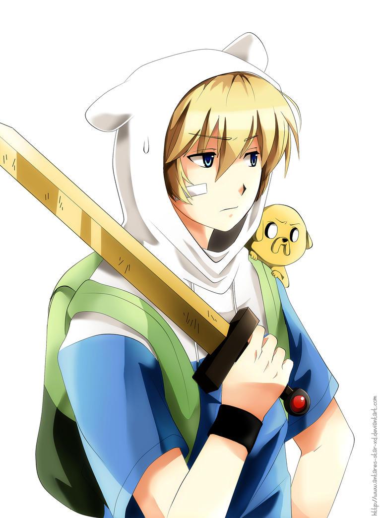 Anime AT   Finn And Jake    By Radical Rhombus XD