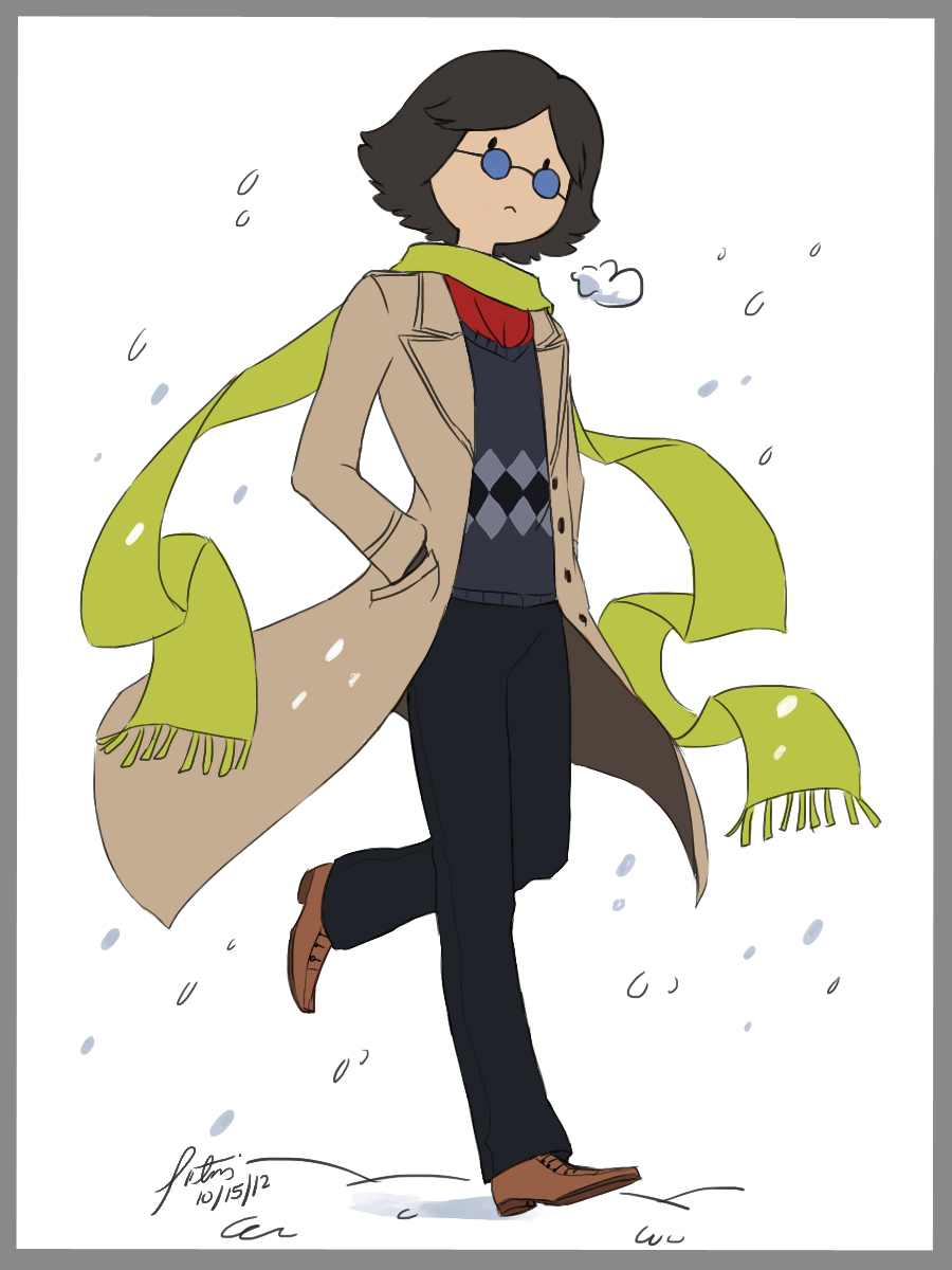 .: Winter Simon :. by Radical-Rhombus-XD