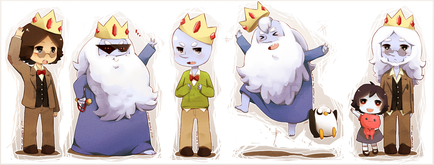 Ice King Chibi Episode Card by Radical-Rhombus-XD