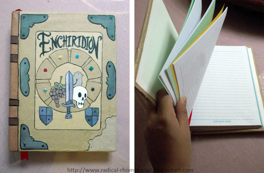 Enchiridion College Binder Notebook by Radical-Rhombus-XD