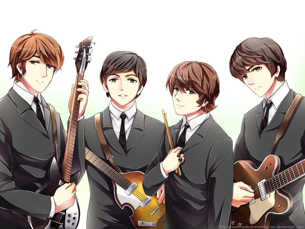 .: Date a Beatle [Otome Style] :. by PepperMoonFlakes