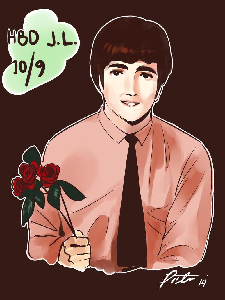 .: HBD John Lennon :. by Radical-Rhombus-XD
