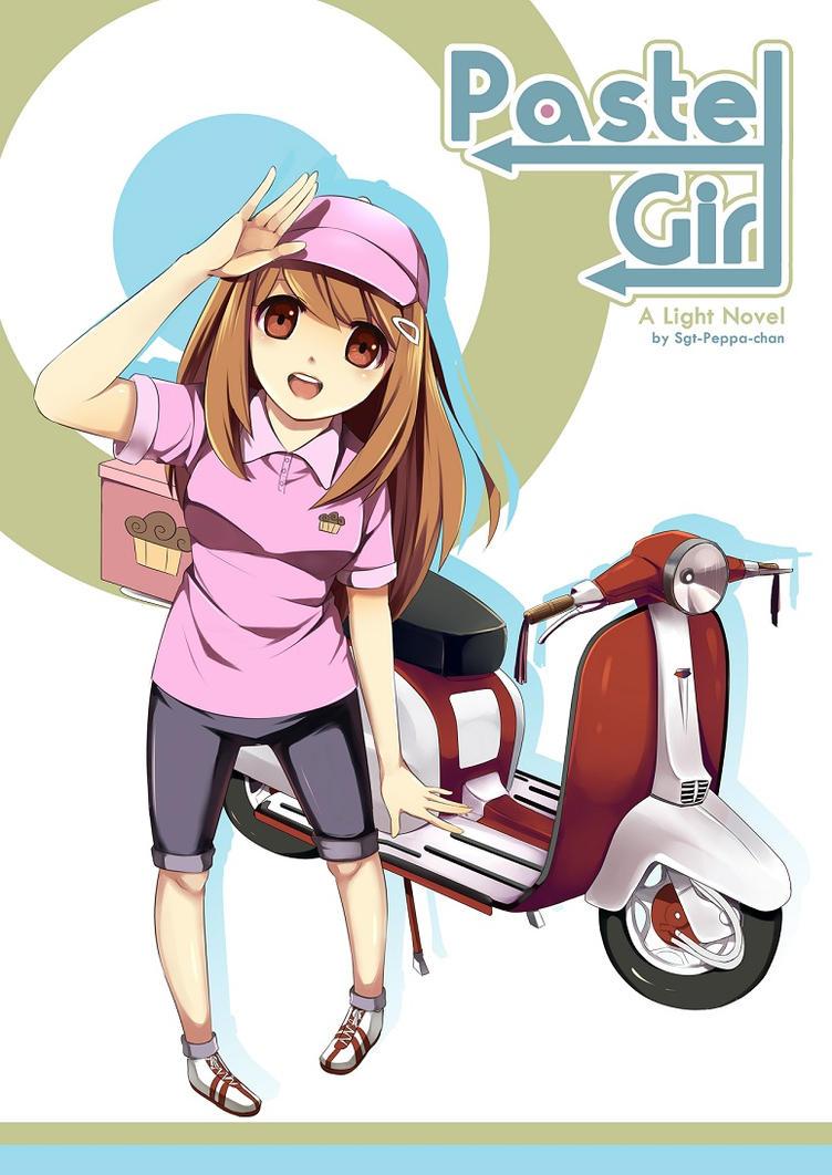 Pastel Girl Book Cover by Radical-Rhombus-XD