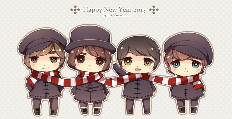 .: HAPPY NEW YEAR 2015 :. by PepperMoonFlakes