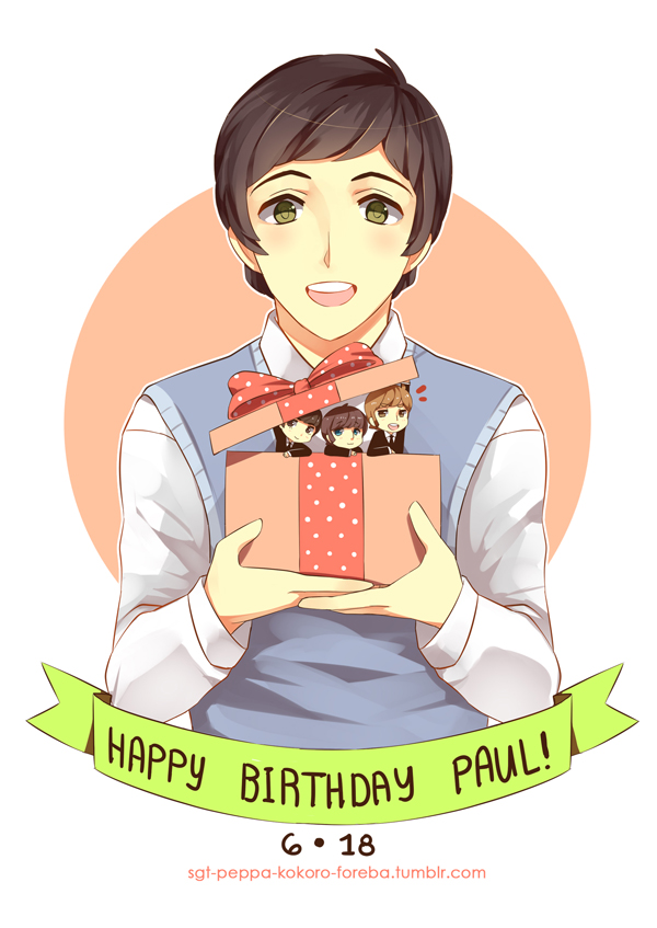 HBD Paul McCartney By PepperMoonFlakes