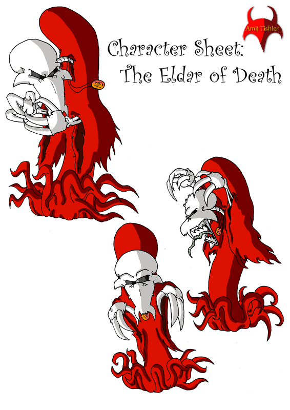 """""""Born to be Dead"""" - 2D classic animation film"""